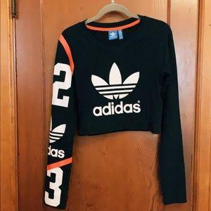 Adidas crop top
